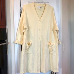 Vtg CHRISTIAN DIOR- 100% cotton French terry gown